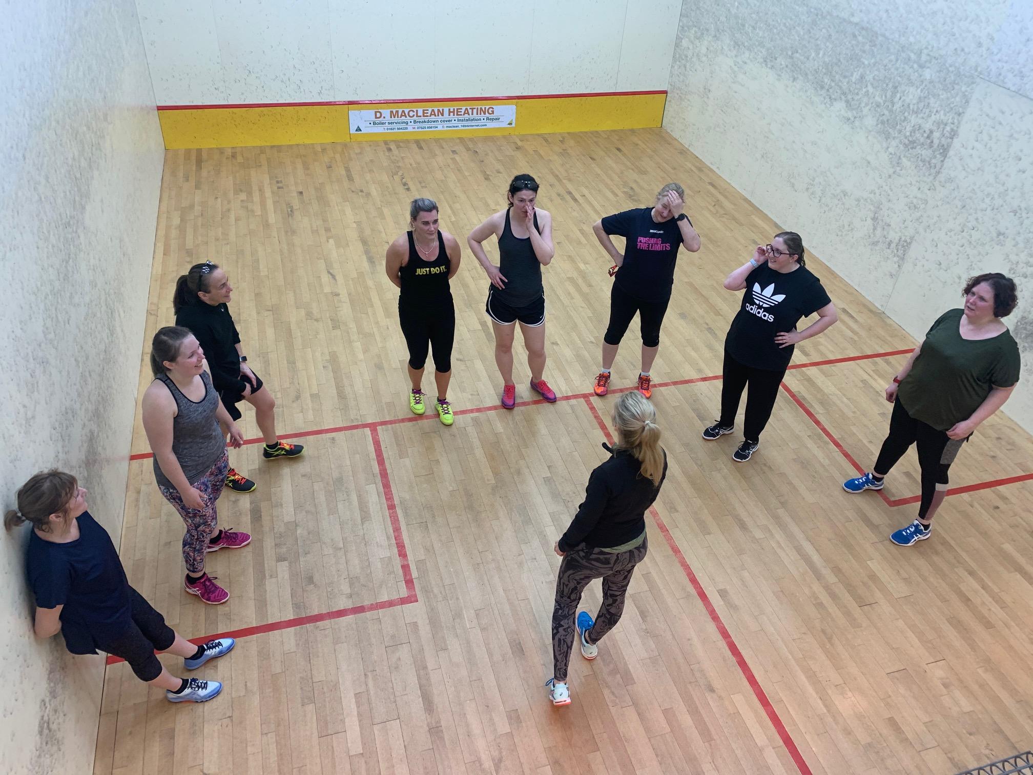 Lisa McKenna Squash Courses